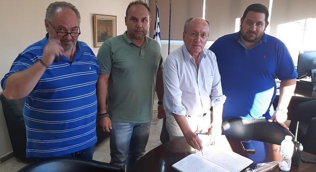 Ίδρυση Εθελοντικής Διασωστικής Ομάδας στον Δήμο Μαραθώνος