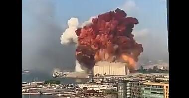 Ισχυρή έκρηξη στη Βηρυτό: Τουλάχιστον 10 νεκροί