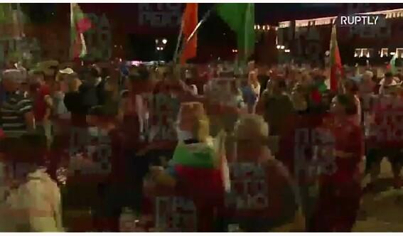 Βουλγαρία: Οι διαδηλωτές έστησαν τέντες! Ζητούν την παραίτηση Μπορίσοφ