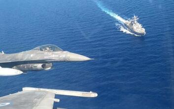 Επέτειος 25ης Μαρτίου: Πτήσεις μαχητικών αεροσκαφών και ελλιμενισμός πλοίων του Στόλου