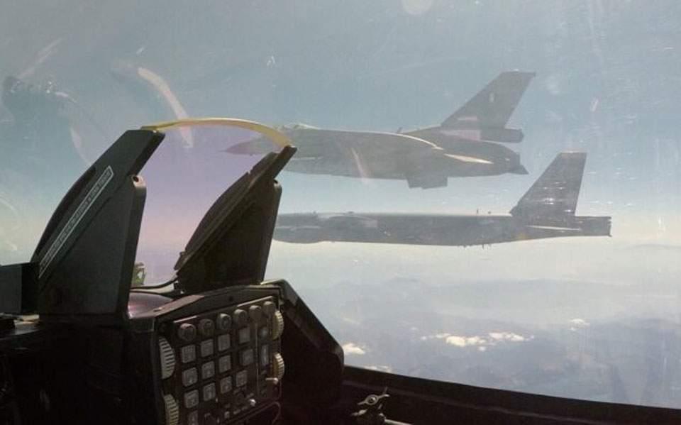 ΓΕΕΘΑ: Είχε προβλεφθεί νέα τουρκική πρόκληση στη συνοδεία του Αμερικανικού Β-52
