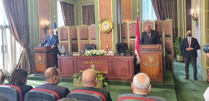 Ελλάδα και Αίγυπτος υπέγραψαν συμφωνία για την ΑΟΖ – Δένδιας: Ακυρώνει το μνημόνιο Τουρκίας – Λιβύης (χάρτης)