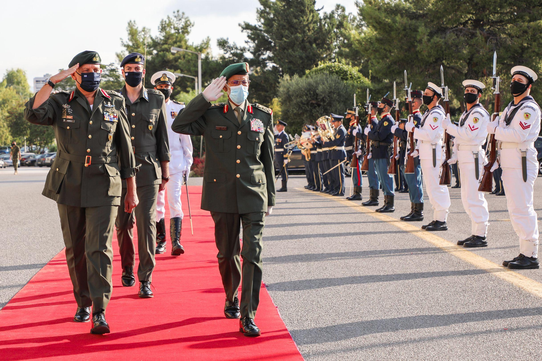 Επίσκεψη στην Ελλάδα του Αρχηγού Γενικού Επιτελείου Ενόπλων Δυνάμεων των Ηνωμένων Αραβικών Εμιράτων (ΗΑΕ)