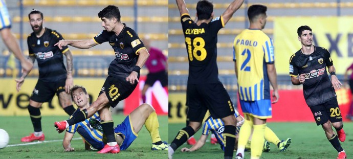 Ο Μάνταλος ώθησε την ΑΕΚ στην νίκη και ο Τσιντώτας την κράτησε στο παιχνίδι