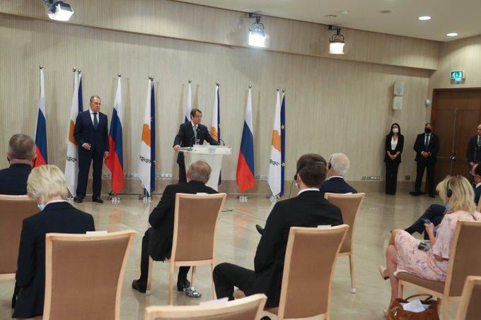 Οι άριστες σχέσεις Κύπρου – Ρωσίας επισημάνθηκαν στη συνάντηση Αναστασιάδη-Λαβρόφ