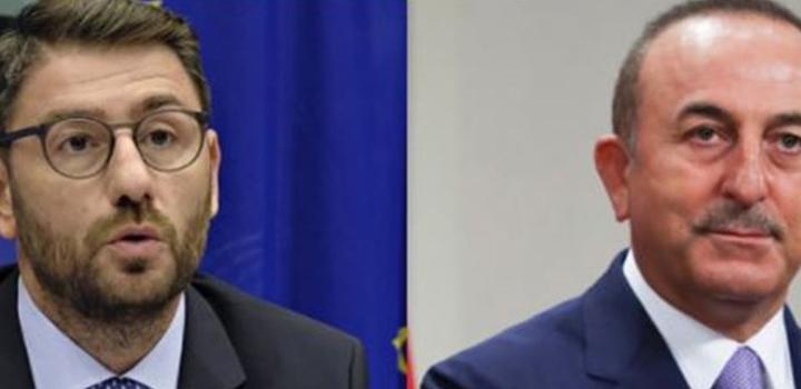 """Ένταση Τσαβούσογλου – Ανδρουλάκη σε τηλεδιάσκεψη του Ευρωκοινοβουλίου – """"Εφαγε"""" τον χρόνο για ερωτήσεις!"""
