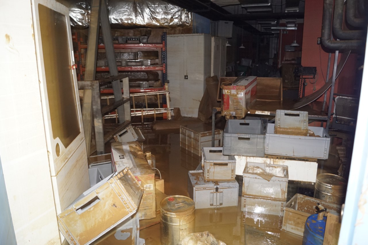 """Οι ζημιές από τον """"Ιανό"""" στο Αρχαιολογικό Μουσείο Καρδίτσας"""