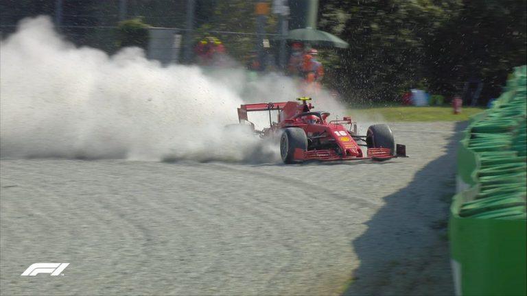 Formula 1: Δείτε το τρομακτικό ατύχημα του Λεκλέρκ στη Μόντσα (video)