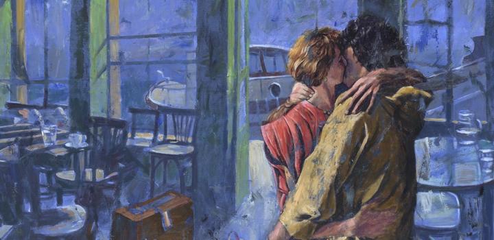 """Παύλος Σάμιος – """"Καφέ Παράδεισος"""": Έκθεση ζωγραφικής στη γκαλερί Σκουφά"""