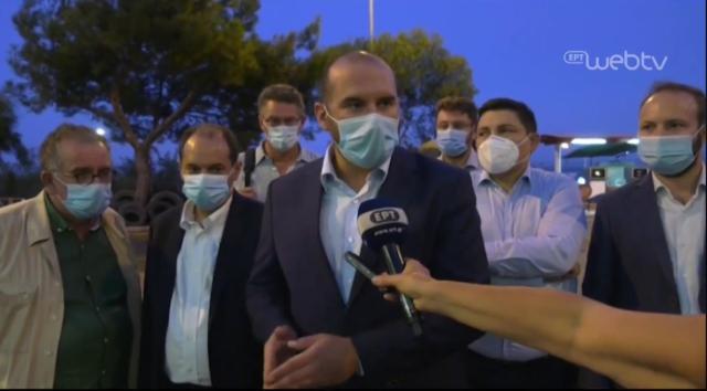 """Δ.Τζανακόπουλος για Μόρια: """"Η κυβέρνηση οφείλει άμεσα να συνέλθει και να δώσει αποτελεσματικές λύσεις"""" (video)"""