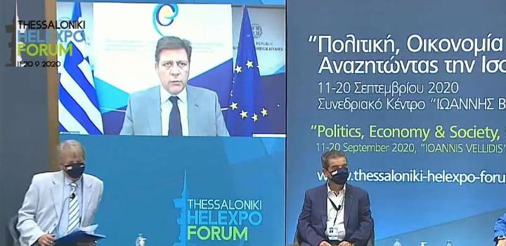Μ. Βαρβιτσιώτης: To brand name της χώρας ισχυρό εφόδιο για την εξωστρέφεια της ελληνικής οικονομίας
