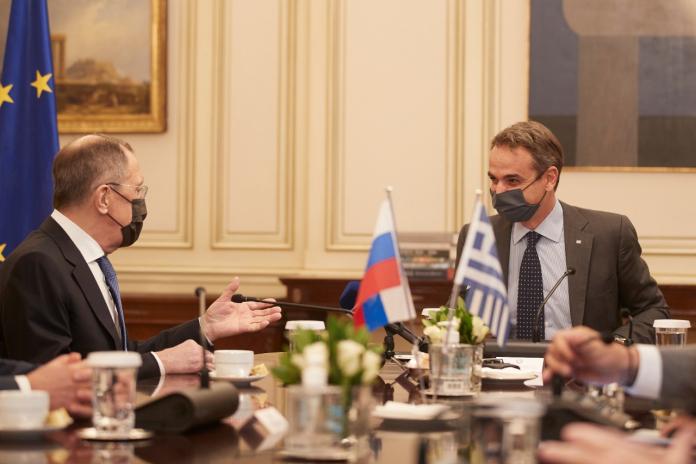 Λαβρόφ σε Μητσοτάκη : Η Ρωσία είναι έτοιμη να συμβάλει στην ομαλοποίηση των σχέσεων Ελλάδας – Τουρκίας