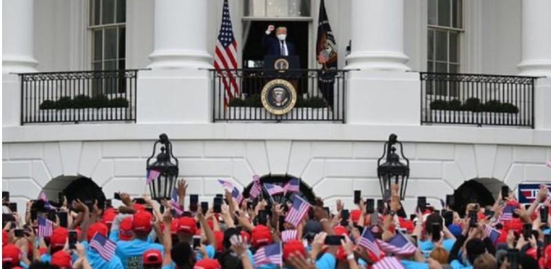 Ο Ντ. Τραμπ προεξοφλεί νίκη «κατά του κινεζικού ιού»