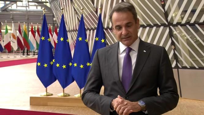Κυρ. Μητσοτάκης: Ζητήσαμε ρητή αναφορά για αποδοκιμασία της ΕΕ στις ενέργειες της Τουρκίας- Θέσαμε ζήτημα για εμπάργκο όπλων στην Τουρκία