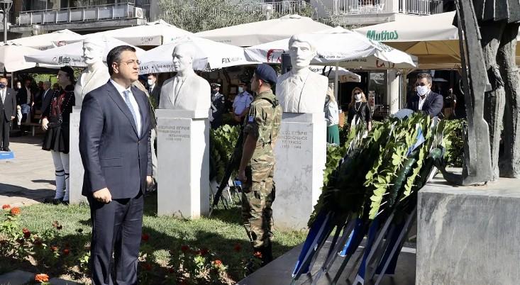 Ο Μακεδονικός Αγώνας εδραίωσε την ελληνικότητα της Μακεδονίας, δήλωσε ο Τζιτζικώστας