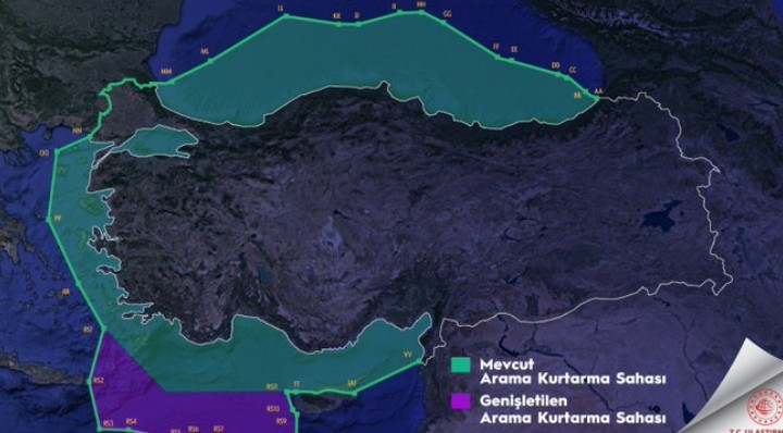 Παράνομος τουρκικός χάρτης: Διεκδίκηση άσκησης αρμοδιοτήτων και όχι κυριαρχίας;