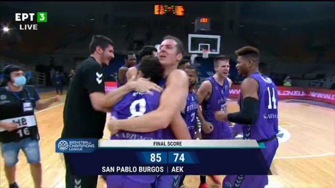 Η Μπούργος κατέκτησε το Basket Champions League