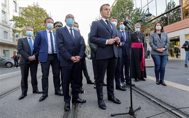 Μακρόν: Η Γαλλία δέχεται επίθεση – Είμαστε σε επαγρύπνηση