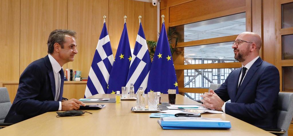 LIVE: Ευρωπαϊκό Συμβούλιο: Ζωντανά οι διεργασίες και οι διμερείς συναντήσεις ενόψει της Συνόδου Κορυφής