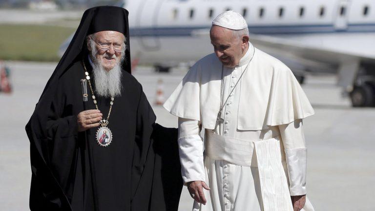 Στη Ρώμη ο Οικουμενικός Πατριάρχης – Θα έχει συνάντηση και με τον Πάπα