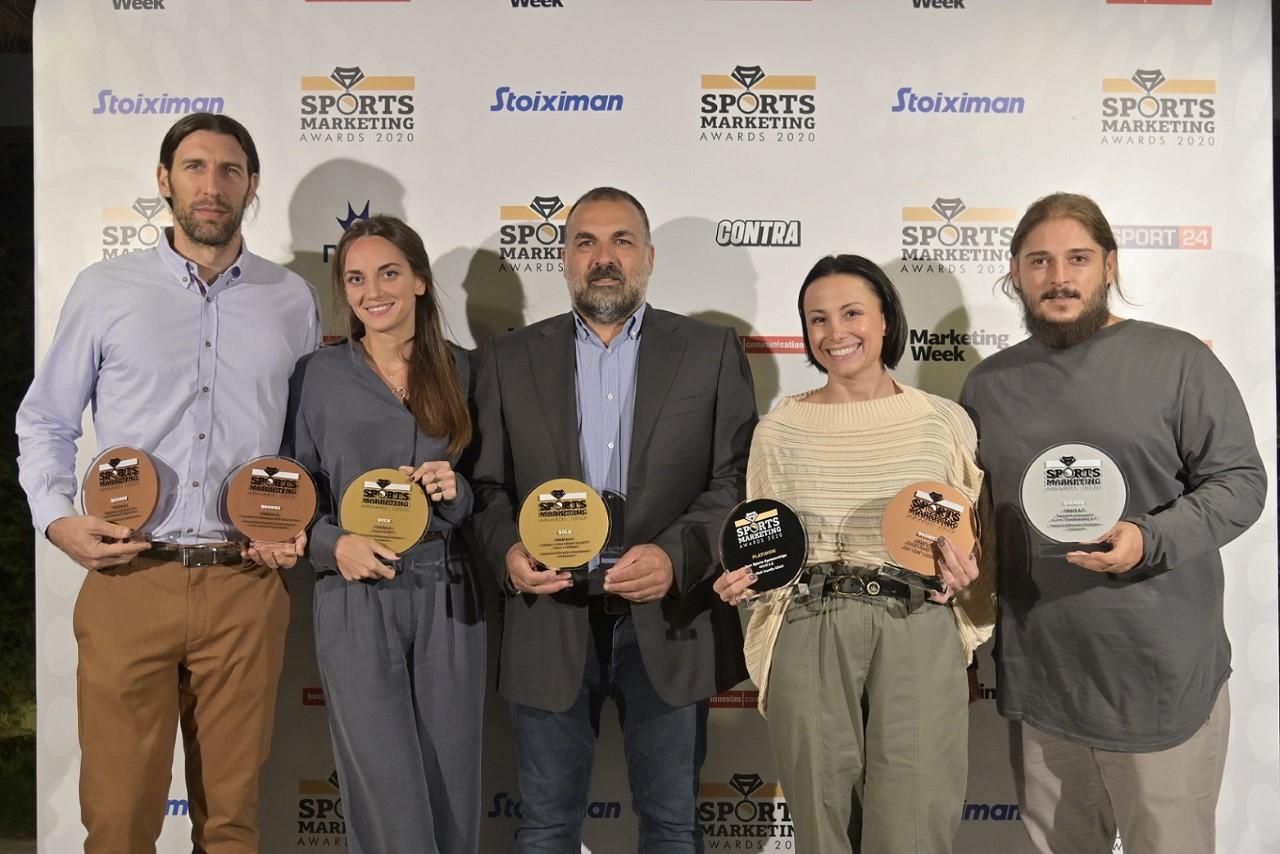 Ο ΟΠΑΠ στην κορυφή των Sports Marketing Awards – Δέκα βραβεία για προγράμματα και δράσεις της εταιρείας