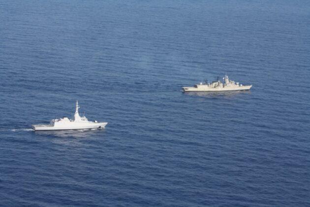 Εντυπωσιακές εικόνες από τη συνεκπαίδευση μονάδων του Πολεμικού Ναυτικού Ελλάδας και Αιγύπτου νότια της Καρπάθου (φωτο-video)