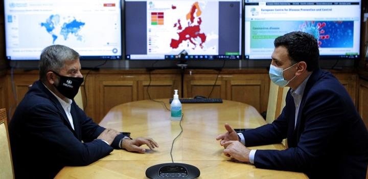 Β. Κικίλιας: Οι ιδιώτες γιατροί είναι παρόντες – Συνάντηση Υπουργού Υγείας με τον Πρόεδρο του ΙΣΑ Γιώργο Πατούλη