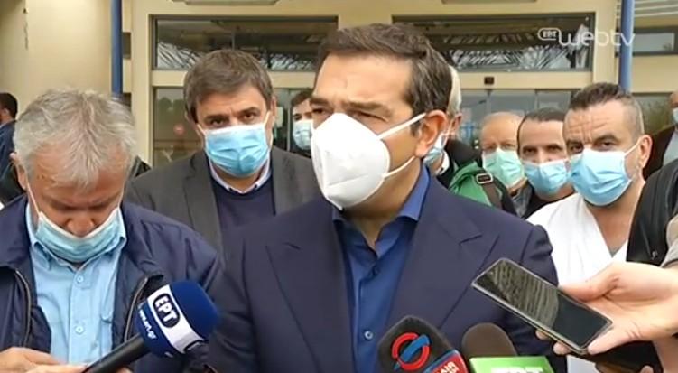 Αλ. Τσίπρας: Την πανδημική κρίση διαχειρίζεται μια κυβέρνηση με ιδεολογικές εμμονές ενάντια στο ΕΣΥ