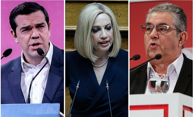 Στο σκαμνί της αντιπολίτευσης ο Μητσοτάκης