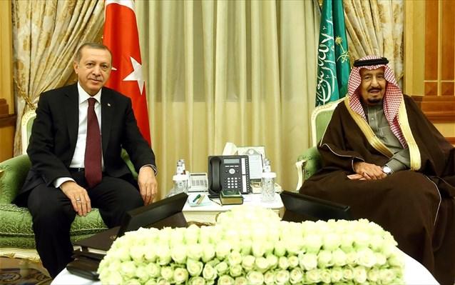 Τουρκία-Σαουδική Αραβία: Για βελτίωση σχέσεων συζήτησαν Ερντογάν – Σαλμάν