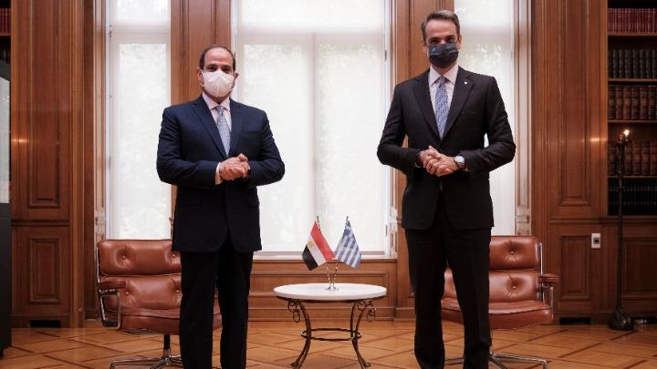 Επικοινωνία Κυρ. Μητσοτάκη με τον πρόεδρο της Αιγύπτου για διμερείς σχέσεις & εξελίξεις στη Λιβύη