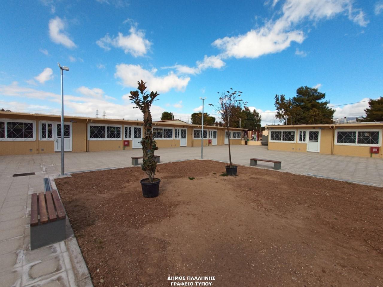 Ξεκίνησε η μεταστέγαση του 7ου Δημοτικού Σχολείου και του 7ου Νηπιαγωγείου Παλλήνης
