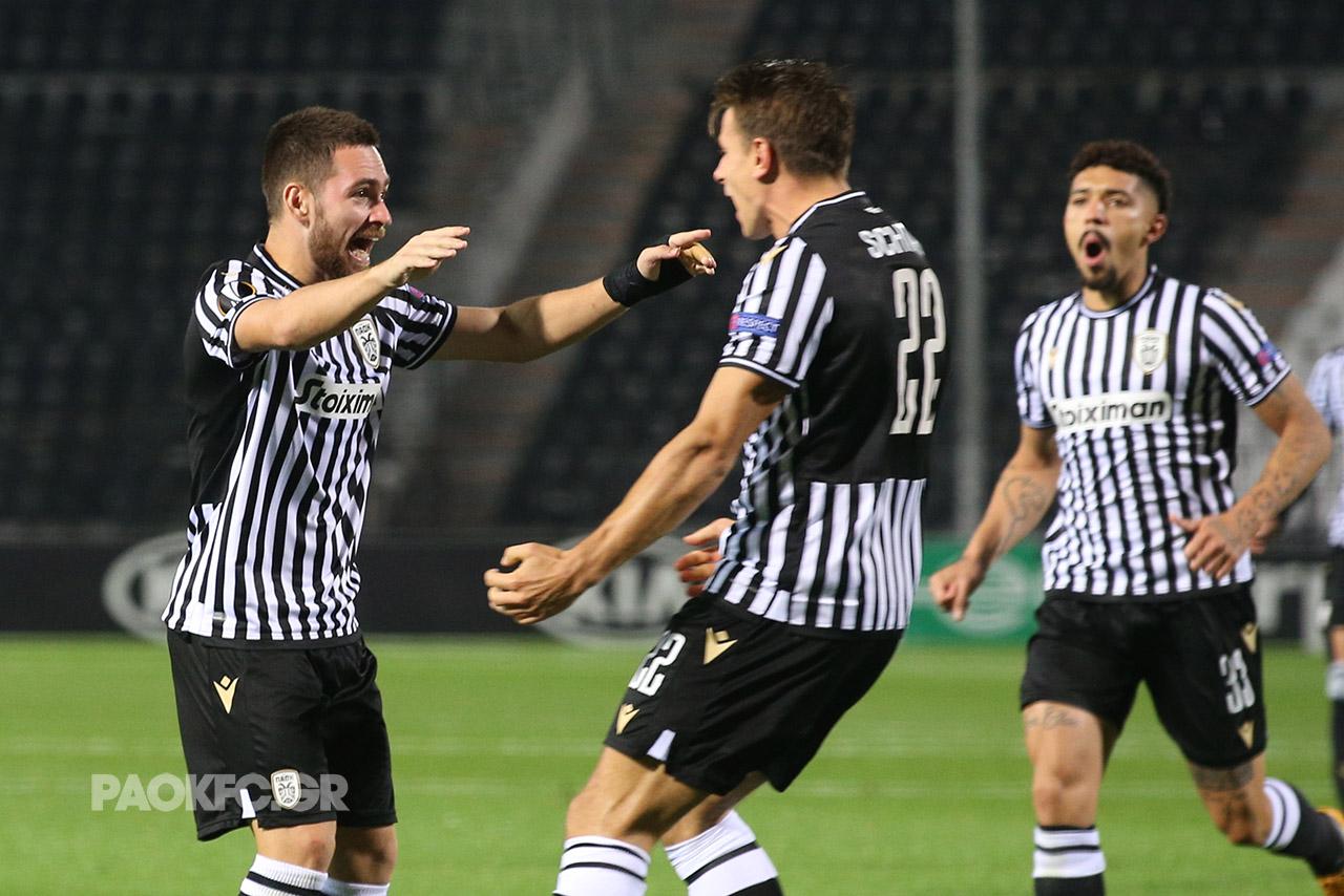 Εκπληκτικός ΠΑΟΚ συνέτριψε με 4-1 την Αϊντχόβεν στην Τούμπα