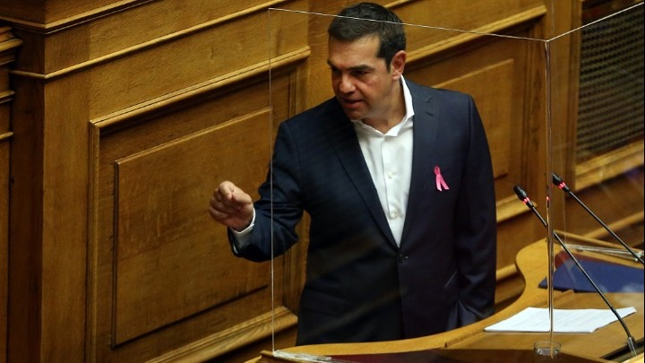 Live – Βουλή: Η ομιλία Τσίπρα για το νομοσχέδιο με τα μέτρα ενίσχυσης