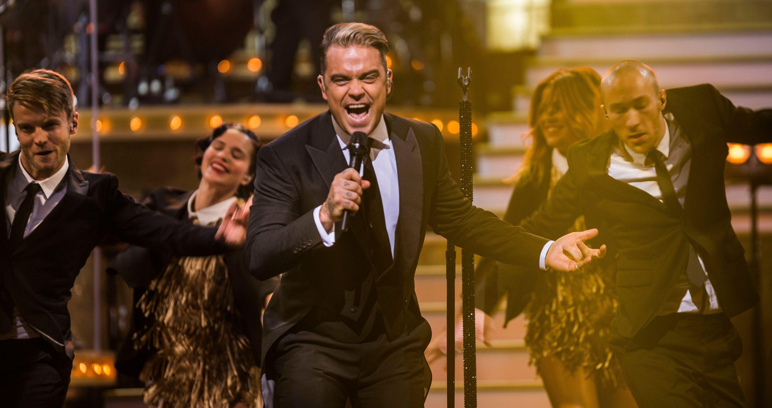 Ο Robbie Williams live στο πρωτοχρονιάτικο ERTFLIX