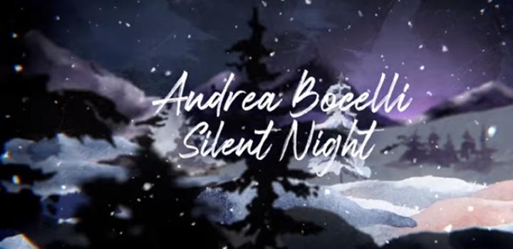 """Andrea Bocelli: """"SILENT NIGHT"""" (Piano version – video)"""