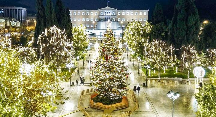Ο Δήμος Αθηναίων ανάβει το Χριστουγεννιάτικο δέντρο, αλλιώς…
