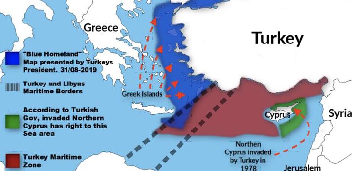 Η Λιβυκή δικαιοσύνη έκανε το πρώτο βήμα – Ελληνική προσφυγή στη διεθνή δικαιοσύνη, για τους παράνομους Τουρκικούς χάρτες