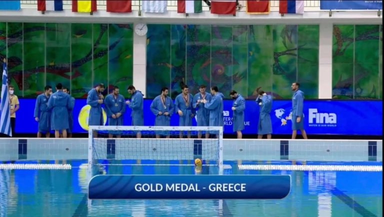 Εθνική ομάδα υδατοσφαίριση: Πρώτη η Ελλάδα στην Ευρώπη (νίκη με 12-7 επί του Μαυροβουνίου)