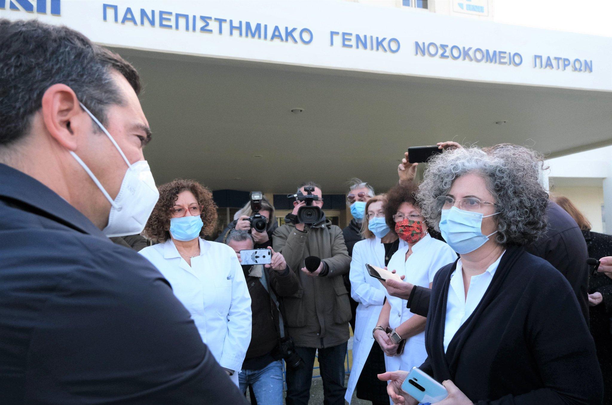 Αλ. Τσίπρας: Πρωτοφανής η ανεπάρκεια του λεγόμενου επιτελικού κράτους στην υπόθεση του εμβολιασμού