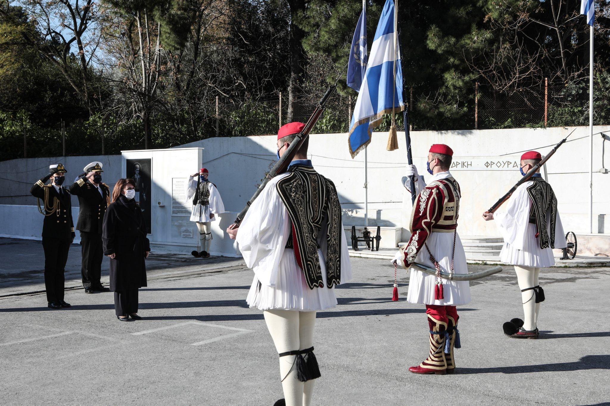 Κ. Σακελλαροπούλου: Θεματοφύλακες της ιστορικής μας μνήμης οι εύζωνες