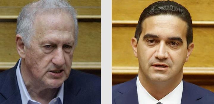 Κ. Σκανδαλίδης και Μ. Κατρίνης οι νέοι κοινοβουλευτικοί εκπρόσωποι του ΚΙΝΑΛ
