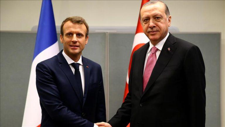 Οι πρόεδροι Ερντογάν και Μακρόν αντάλλαξαν επιστολές, συμφώνησαν να ξαναρχίσουν το διάλογο