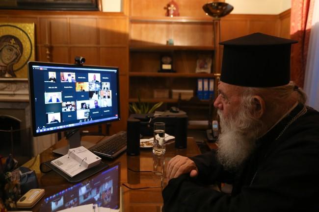 Ο Αρχιεπίσκοπος στην ημερίδα «Νεότερες εξελίξεις στην έρευνα για την Ελληνική Επανάσταση του 1821»