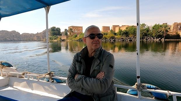 Ο Τάσος Δούσης και οι «ΕΙΚΟΝΕΣ» συνεχίζουν την μοναδική τους κρουαζιέρα στον ποταμό Νείλο