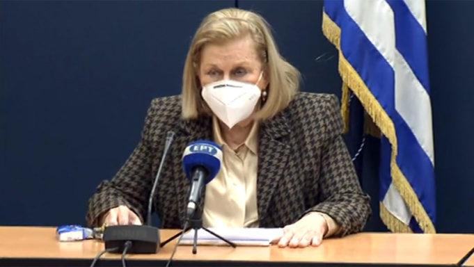 Θοεδωρίδου: Οι επόμενες ομάδες που θα εμβολιαστούν