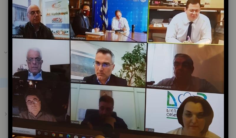 Τηλεδιάσκεψη μεταξύ Σπ. Λιβανού και Εθνικής Διεπαγγελματικής Βάμβακος – Τι αποφασίστηκε