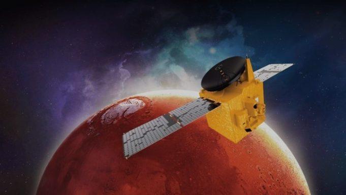 Τρία ρομποτικά διαστημικά σκάφη φτάνουν στον Άρη τον Φεβρουάριο