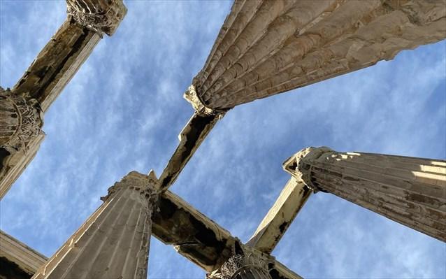 Ναός Ολυμπίου Διός: Αυτοψία της Υπουργού Πολιτισμού στα έργα συντήρησης