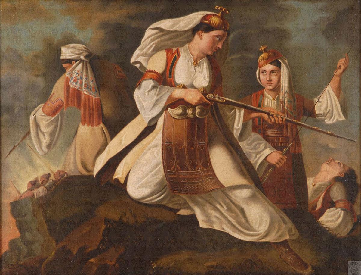 """""""… και εγένετο Ελλάς"""" Οι πιο σημαντικές γυναίκες αγωνίστριες της Επανάστασης"""